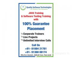 Quality Software Technologies - SoftwareTesting, JAVA, Python, ML Training & Placement