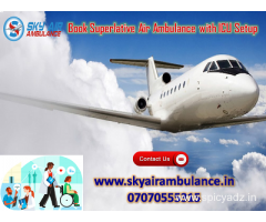 Utilize Air Ambulance Service in Dehradun with Trustful Patient Shifting