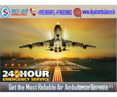 Pick Air Ambulance in Bhubaneswar with all Essential Medical Aid