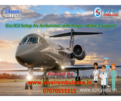 Select Emergency Air Ambulance Service in Jaipur at less expense