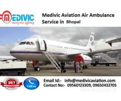 High-Standard Air Ambulance Service in Indore by Medivic Aviation