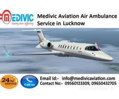 High-Standard Air Ambulance Service in Lucknow by Medivic