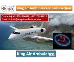 King Air Ambulance Services In Jamshedpur- Get Your Solution