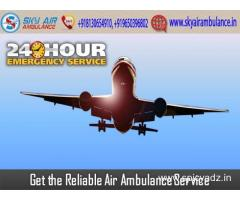 Rent Sky Air Ambulance from Bhopal with Experienced Medical Staff