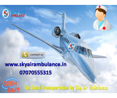 Hire Safest and Most Trusted Air Ambulance Service in Agatti by Sky