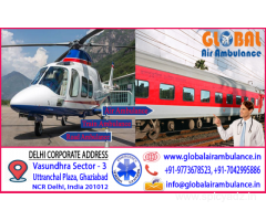 Global Air Ambulance Services in Delhi with the Beneficial Administrations