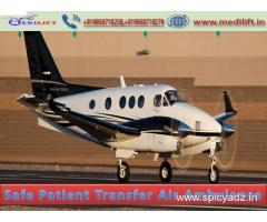 Full Medical Facility Air Ambulance Services in Delhi by Medilift