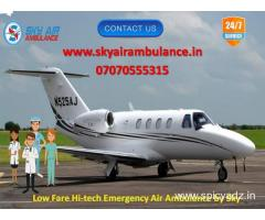 Take Highly Advanced Air Ambulance in Imphal by Sky