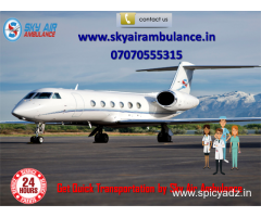 Pick Most Reliable Air Ambulance in Nanded at Low Budget by Sky