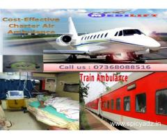 Get Secure Patient Transfer Air Ambulance Service in Delhi