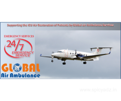 Global Air Ambulance Service in Delhi with the Multiple Treatments