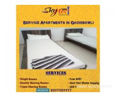 Book Luxury Service Apartment in Gachibowli | SKynest Service Apartments