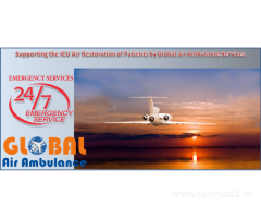 Global Air Ambulance Service in Mumbai with the Multiple Treatments