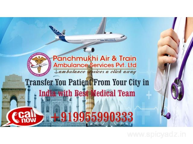 India's Most Dependable Air and Train Ambulance in Delhi by Panchmukhi