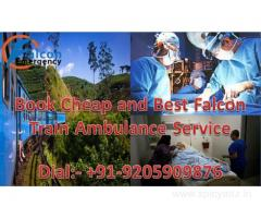 Book Best ICU Facility by Falcon Train Ambulance in Mumbai at Low Cost