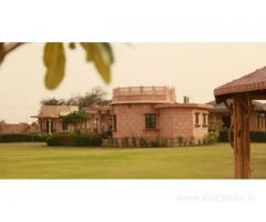 Get Thar Oasis Resort & Camp in,Jodhpur with Class Accommodation.