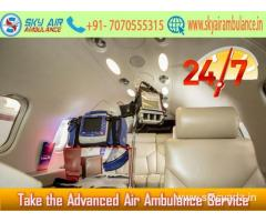 Rent a Normal Charge Air Ambulance in Mumbai