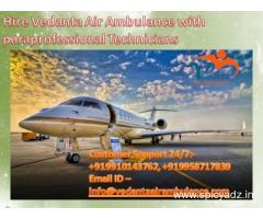 Book Vedanta Ambulance services from everywhere India