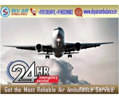 Select Sky Air Ambulance in Delhi with Verified Medical Team