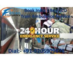 Get Emergency Train Ambulance Service in Delhi at the Minimal Cost