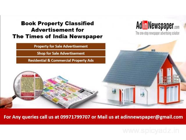 Property Classified Advertisement in Delhi