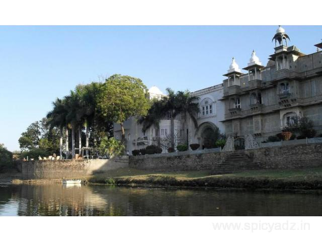Get Udai Bilas Palace in,Dungarpur with Class Accommodation.