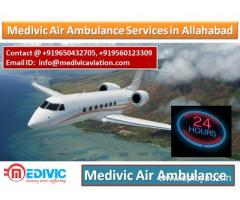 Medivic Air Ambulance in Allahabad-Get Hospital to Hospital Services