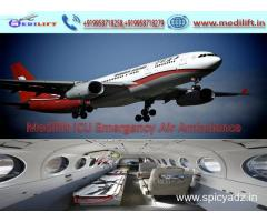 Get Genuine Low Fare Air Ambulance Services in Patna by Medilift