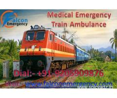Get Falcon Train Ambulance Service in Chennai at Low-Cost with Best Medical Team