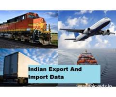 Indian export and import data: Find out Importers and Exporters