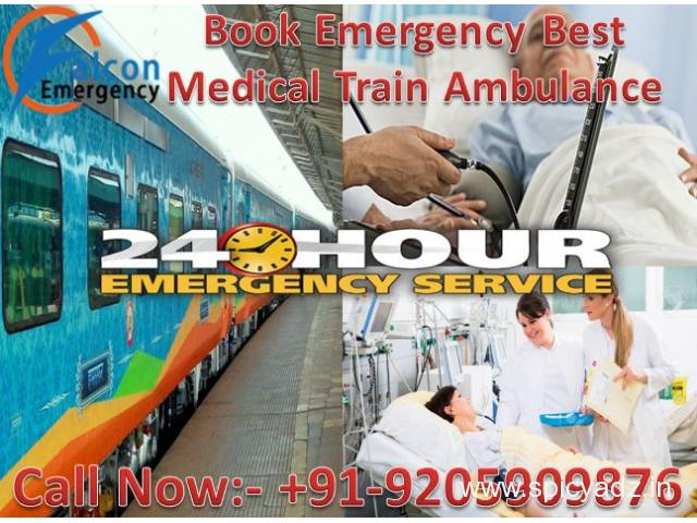 Get Book Best ICU Facility Train Ambulance Services in Chennai at Low Cost