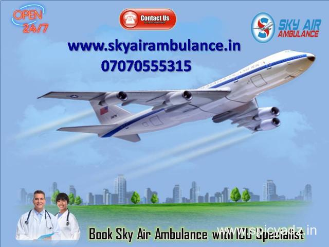 Get Medical Emergency Air Ambulance Service in Agra