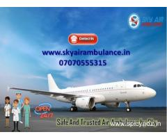 Obtain Sky Air Ambulance Service in Aligarh with 24 hours Emergency Service
