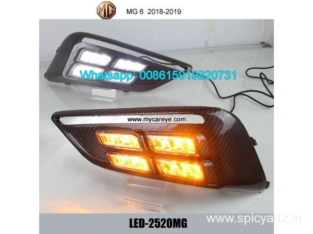 MG 6 MG6 LED DRL day time running lights driving daylight