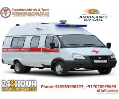 Book Low-Fare Road Ambulance Services in Gurgaon with All Medical Facility