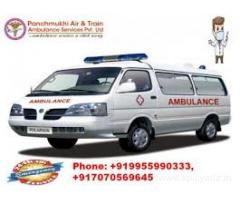 Avail Low-Cost Road Ambulance services in Janakpuri by Panchmukhi Ambulance