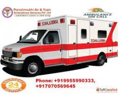 Book Hi-Tech Ambulance Services in Preet Vihar at low-cost by Panchmukhi Ambulance