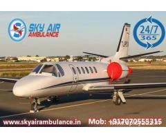 Select Air Ambulance in Delhi with Full Medical Support
