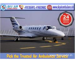 Hire Air Ambulance in Bhubaneswar with Excellent Medical Care