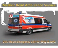 An Emergency ICU Set-up Facility by Medivic Ambulance Service in Patna