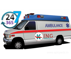 Get the Best Road Ambulance Service in Hatia by King Ambulance