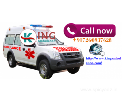 Now Easily Get Ambulance Service in Jamshedpur by King Ambulance