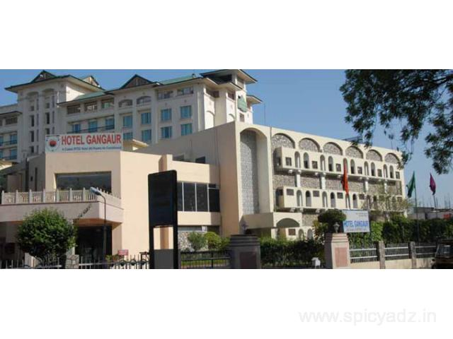 Get Hotel Gangaur (RTDC) in,Jaipur with Class Accommodation.