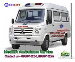 Take Advantage of Hassle-free Road Ambulance Service in Vasant Vihar