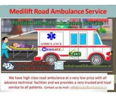 Medilift Ambulance provides world-class Road Ambulance Service in Koderma
