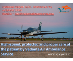 Straight forward Vedanta Air Ambulance from Mumbai to Vellore