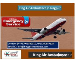 King Air Ambulance in Nagpur-Get More Support