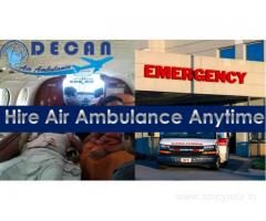 Decan Air Ambulance from Bagdogra Exist Among Renowned Service Provider in Category