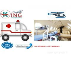 Get Safe & High Class King Air Ambulance Services in Delhi at Affordable Rate