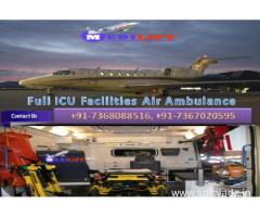 Get Benefits of India's Best Air Ambulance Service in Dibrugarh